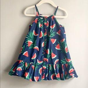 Old Navy Toddler Girl Watermelon Dress
